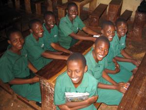 Ugandan school girls