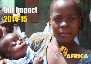 Impact Report 2015 Front Cover