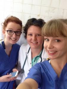 Fun in hospital