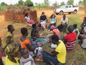 Hannah and Dora Uganda
