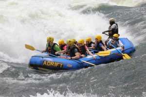 social - whitewater rafting