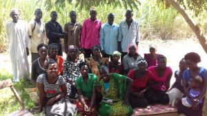 Male support for the Twekembe Women's Group